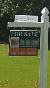 Real estate home seller - bad sign - don't let this happen to you