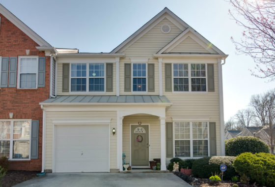 Townhome for sale in Alpharetta GA - Windward Pointe